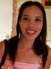 Cheerful 24-yr old Filipina enjoys an afternoon of hotel fun with horny male tourist