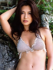 Gorgeous asian idol has a perfectly sexy body with petite boobs