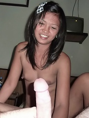 Tattooed Thai asslicker