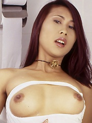 Tied up Thai girl