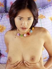 Busty Thai amateur