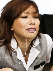 Keito Miyazawa Asian gets cum in mouth after sucking dick a lot