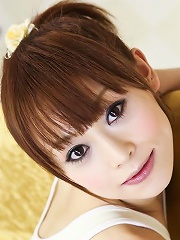 Gorgeous Japanese darling Miina Yoshihara filled with meat