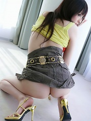 Slim and sexy Rika Sonohara milks a cock cowgirl style