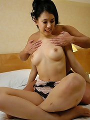Horny Maria Ozawa is fucked then takes a load of cum in her mouth