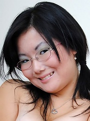 Super cute and brand new asian chick stripping nude