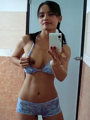 Self shot and hot nude Thai girl Lana shows off